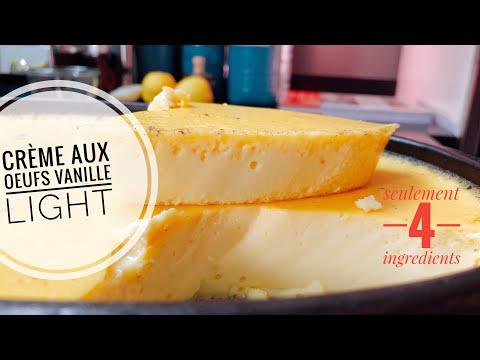 dessert-light-:-crème-aux-oeufs-vanille-4-ingrédients-seulement