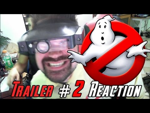 Ghostbusters Trailer #2 Angry Trailer Reaction