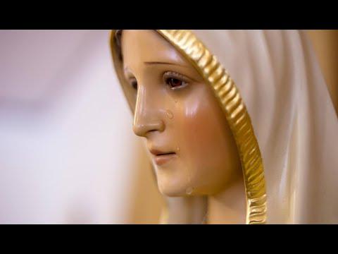 ¡ La Virgen de Fátima Lloró 9 Veces ! - ¡ Y casi simultáneamente ! - ¡ 11 Imágenes en Total !