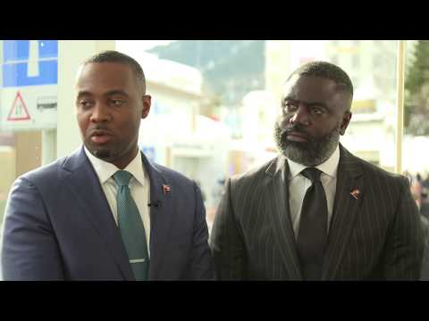 Hub Culture Davos 2018 - The Hon. E. David Burt, the Premier and Minister of Finance of Bermuda