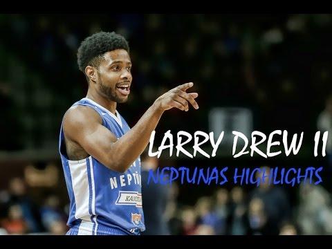 Larry Drew II - Neptunas Highlights 2016-17