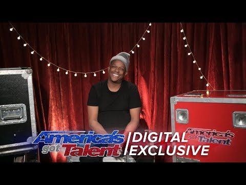 Subway Singer Mike Yung Chats About A Platinum Buzzer?  - America's Got Talent 2017