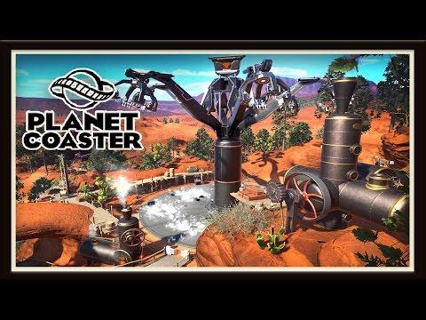 Planet Coaster: Making An Amazing New Western Ride   (Season 2 - part 17)