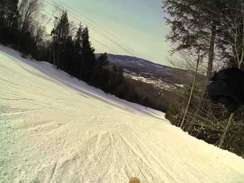 Skiing Ripsaw at Loon Mountain 3 3 15