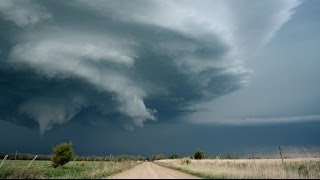 EPIC TORNADO ALLEY SUPERCELL - Lightning & Time Lapse