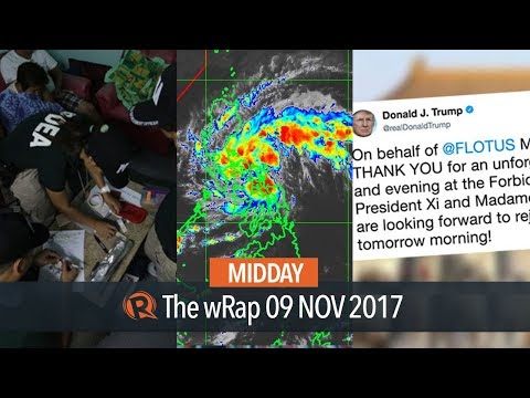 PDEA quota, Tropical Depression Salome,...