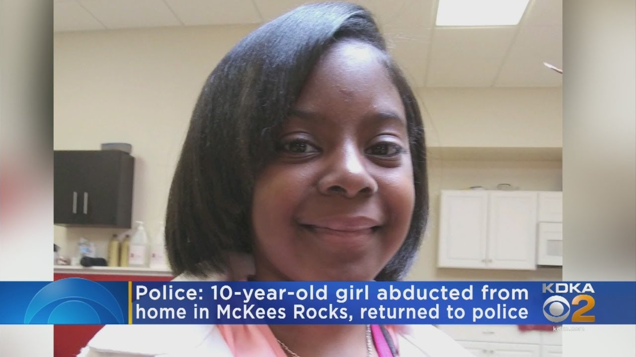 PITTSBURG, PA. BLACK CHILD Abducted 10-Year-Old Checked In Safely With CYS