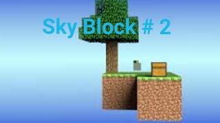 Я сделал ферму животных на SkyBlock. SkyBlock # 2(все получилось! :)