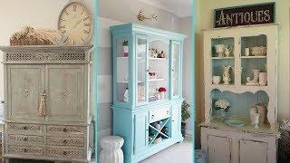 ❤DIY Shabby chic style Hutch decor Ideas❤   Home decor & Interior design   Flamingo Mango 