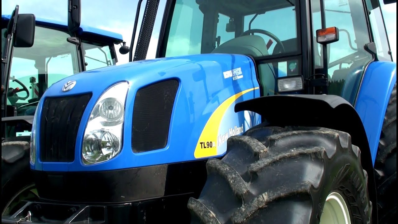 Traktor New Holland TL90 on