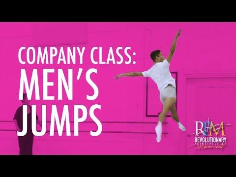 Ballet Class: Men's Jumps