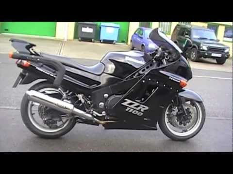 1992 Kawasaki ZZR 1100 - YouTube