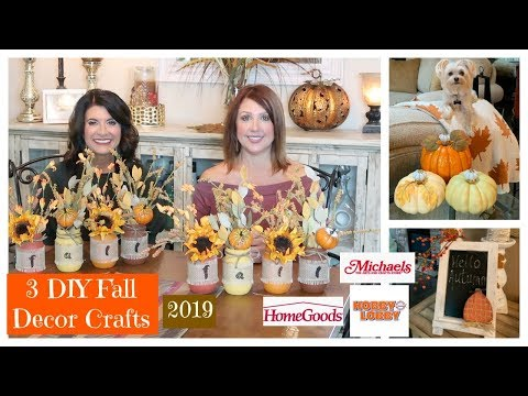 3 DIY Fall Decor Crafts | 2019 | The2Orchids