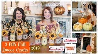 3 DIY Fall Decor Crafts   2019   The2Orchids