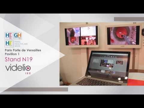 Retrouvez VIDELIO - IEC sur le salon Paris Healthcare Week
