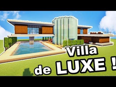 Minecraft Tuto Grande Villa De Luxe By Defroi