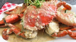 MUST-Try! Garlic White Pepper Crab Recipe 蒜蓉白胡椒螃蟹