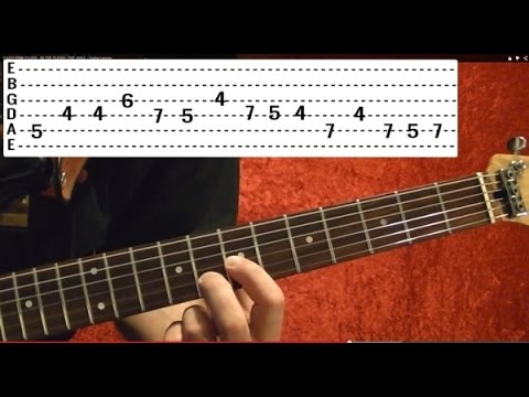Californication Solo - RED HOT CHILI PEPPERS - Guitar Lesson - John Fruscainte