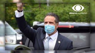 Democratas cobram renúncia de governador de Nova York