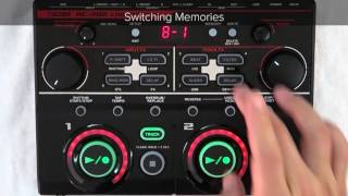 RC-202 Quick Start chapter8 : Switching Memories While You Play