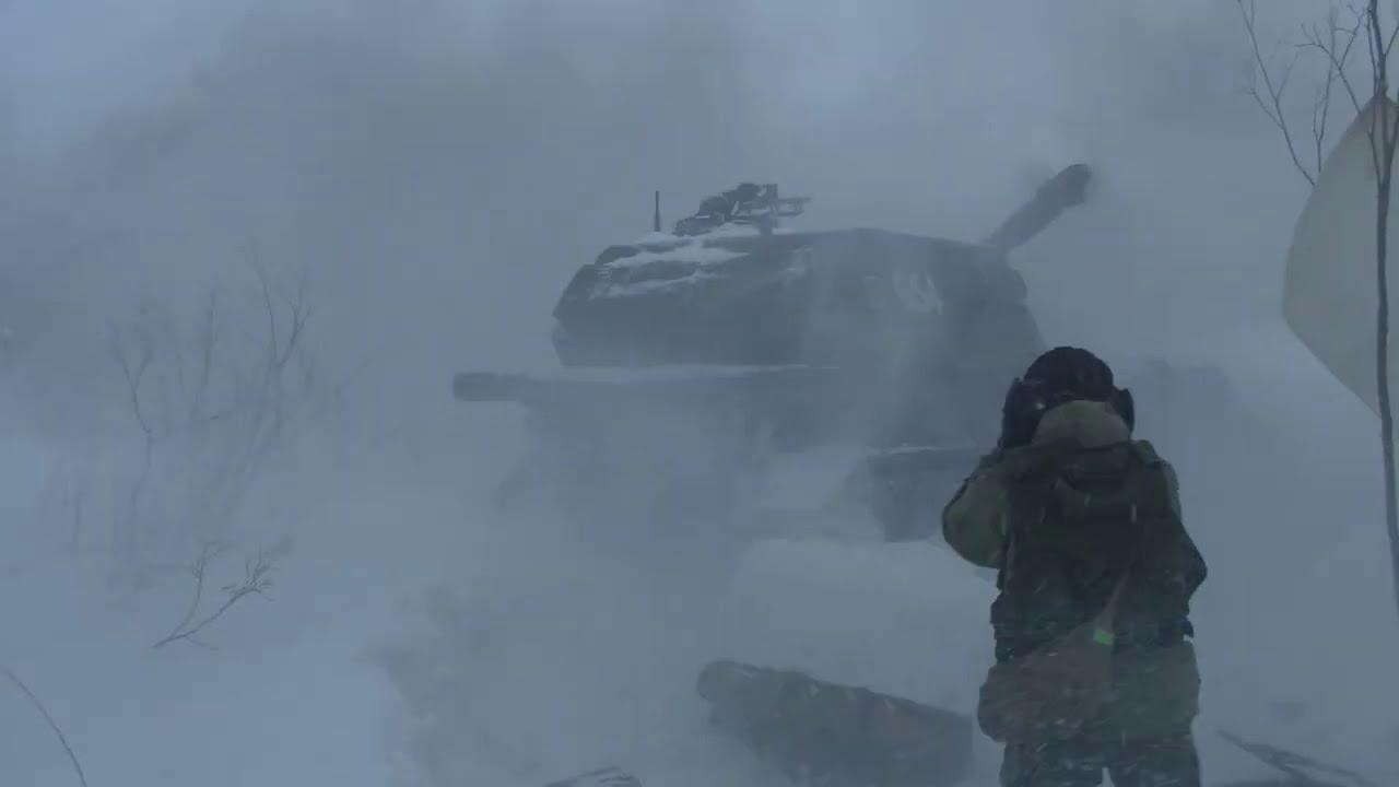 Стрельбы артиллерии Северного флота
