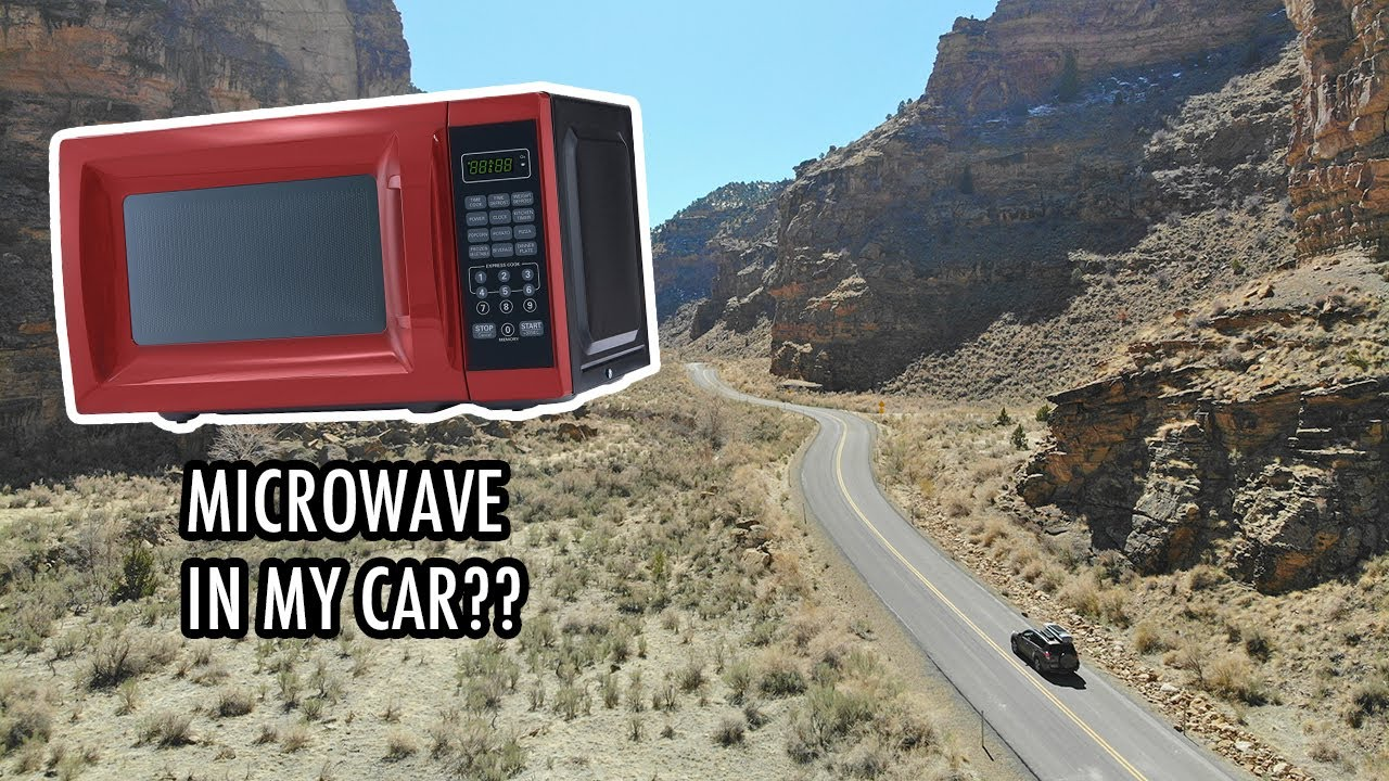 A Microwave in My Car? (& Visiting the World's Longest Art Gallery) – SUV Camping/Vanlife Adventures