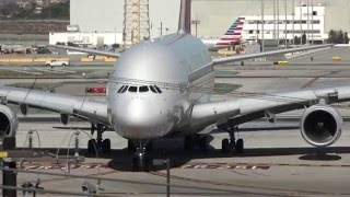 Los Angeles Airport LAX spotting 2016