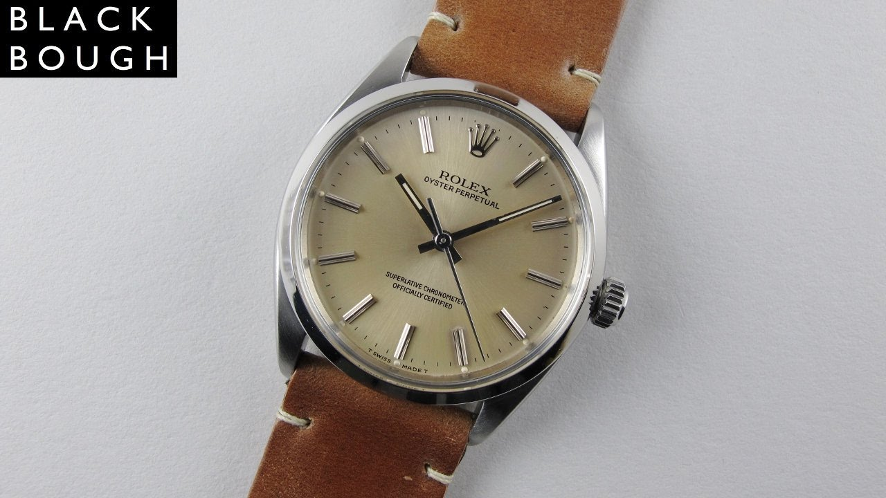 Steel Rolex Oyster Perpetual Chronometer Ref. 1002 vintage wristwatch ac081c2ffe0a