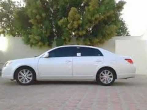toyota avalon 2006 limited white for sale in qatar youtube. Black Bedroom Furniture Sets. Home Design Ideas