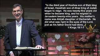 "Follow the King: ""Hezekiah: Following God in the Crises of Life"""
