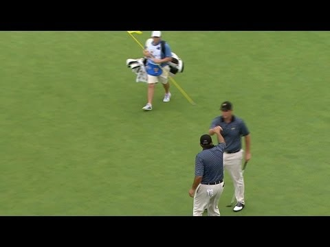 Leishman birdies No. 5 on Day 2 of The Presidents Cup