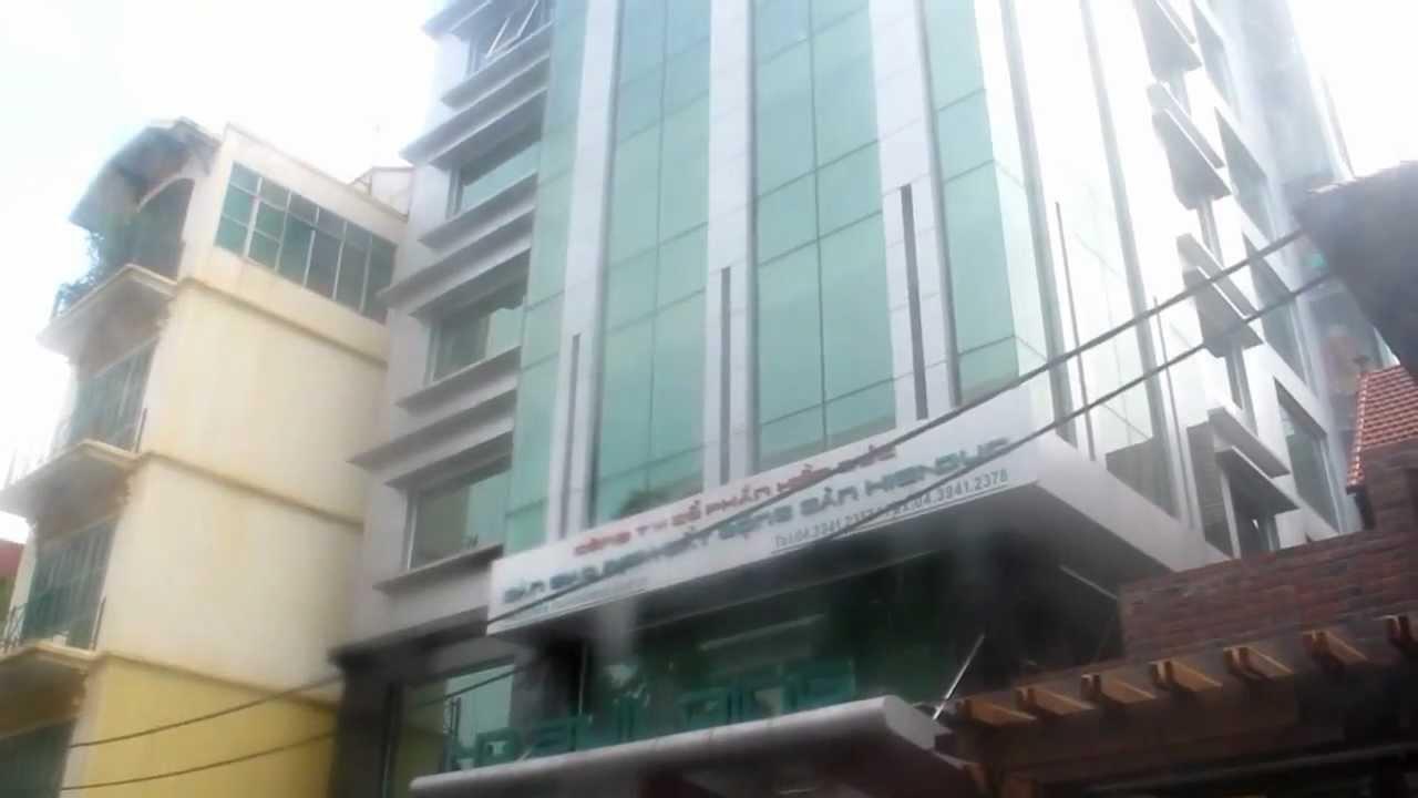 CHO THUÊ VĂN PHÒNG HD BUILDING 57 TRẦN QUỐC TOẢN, HOÀN KIẾM, HÀ NỘI