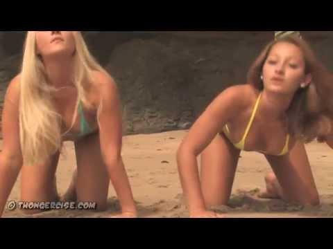^micro bikini girls on the beach (hd)