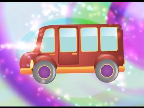 Italian vocabulary words for kids - Vehicles Song
