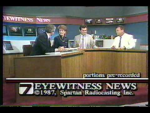 WSPA Channel 7 Eyewitness News   1987