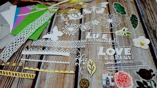 Inloveartshop New Products Preview | Lace Boder ,Frame and Background Material Package Collection