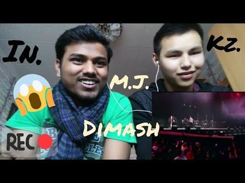 A  tribute to Michal jackson by dimash || REACTION by indian kazakh boy  ||