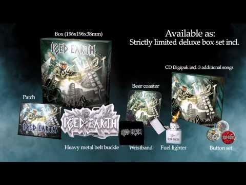ICED EARTH - Dystopia (ALBUM TRAILER)