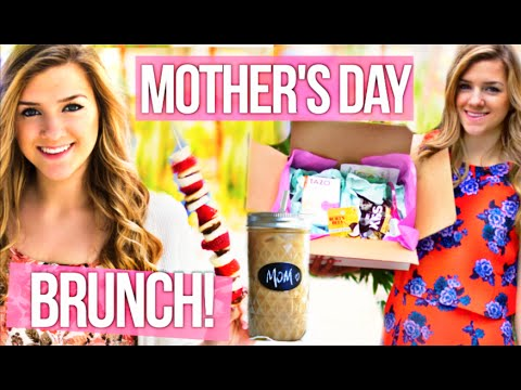 DIY Mother's Day Gift Ideas, Brunch & Recipes! - YouTube