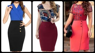 Elegant office and work wear t…