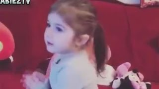 Cute Baby Girl Dances With Jingle Bells Christmas Song 2016 thumbnail