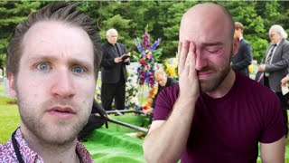 YouTubers React To Grant Thompson Death ~ The King Of Random Has Died (Sad Funeral)