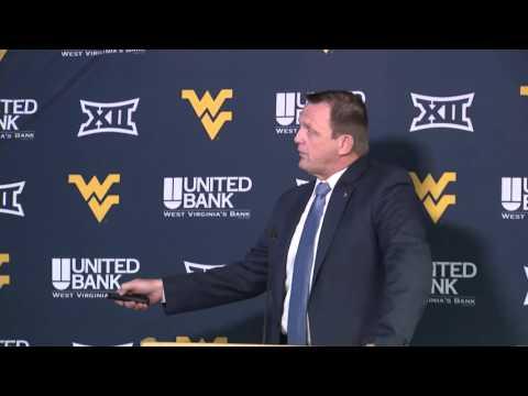 Shane Lyons: WVU Coliseum Complex Renovation Press Conference