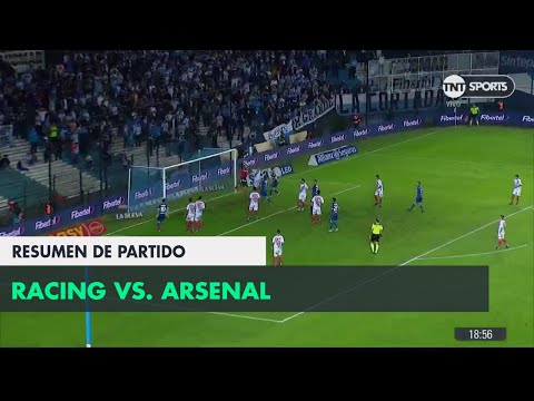 Resumen de de Racing vs Arsenal (2-0) | Fecha 25 - Superliga Argentina 2017/2018