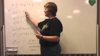 Studiekreds Modul 3 2 Anden ordens diff ligninger