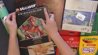 Colouring Review. Which Colour Pencils Should I Buy?