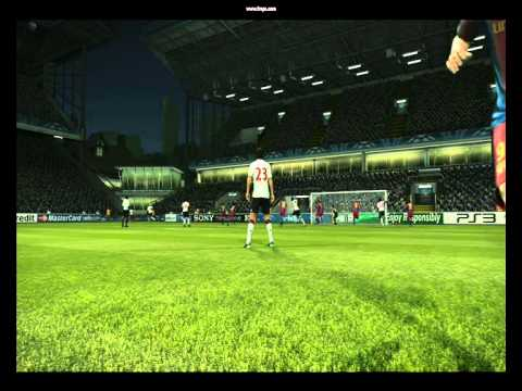 Pes 2011 Goal From The Corner