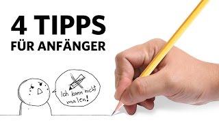 4 TIPPS für ZEICHNER