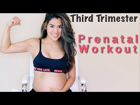 SAFE PRENATAL WORKOUT THIRD TRIMESTER