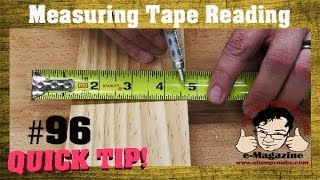 How to read a tąpe measure without looking like an idiot